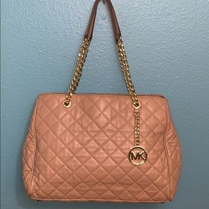 Michael Kors Quilted Leather Handbag